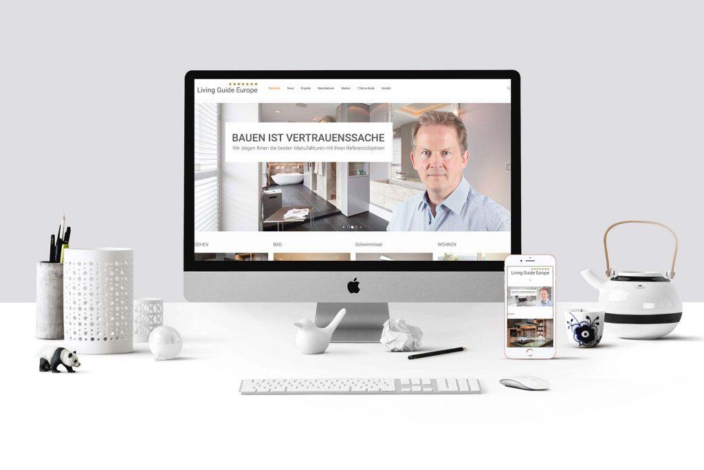 SBK-Europe Marketing Webseite